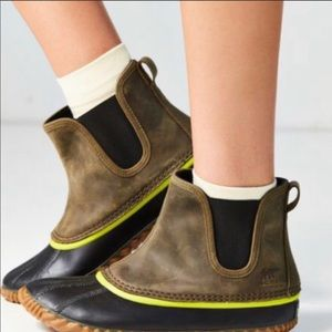 sorel out and about chelsea duck boot